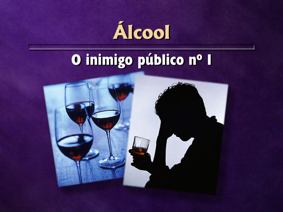 Álcool O inimigo público nº 1