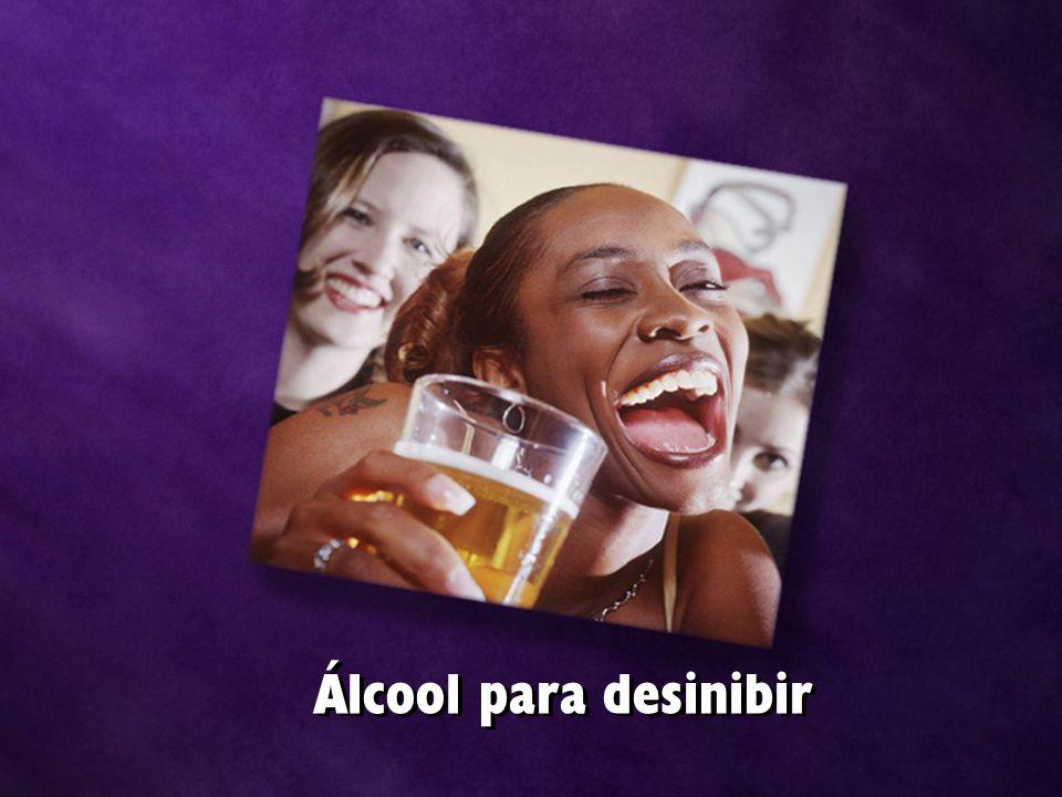 Álcool para desinibir
