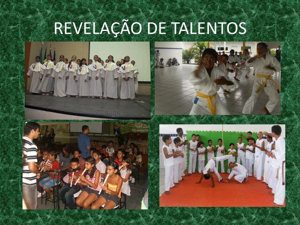 REVELAÇÃO DE TALENTOS