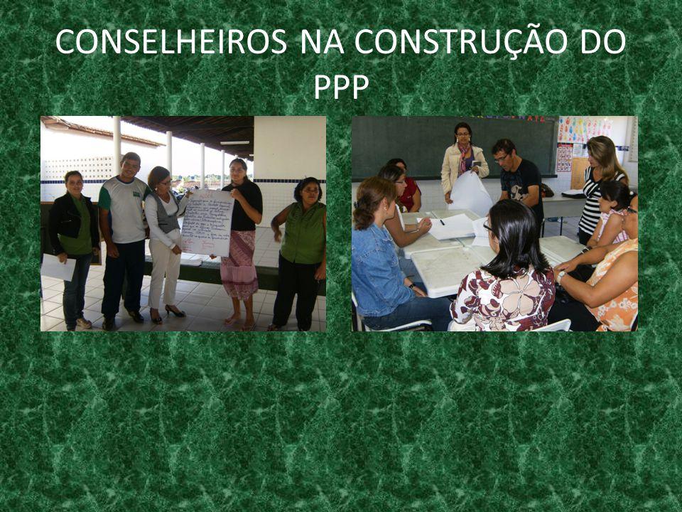 CONSELHEIROS NA CONSTRUÇÃO DO PPP