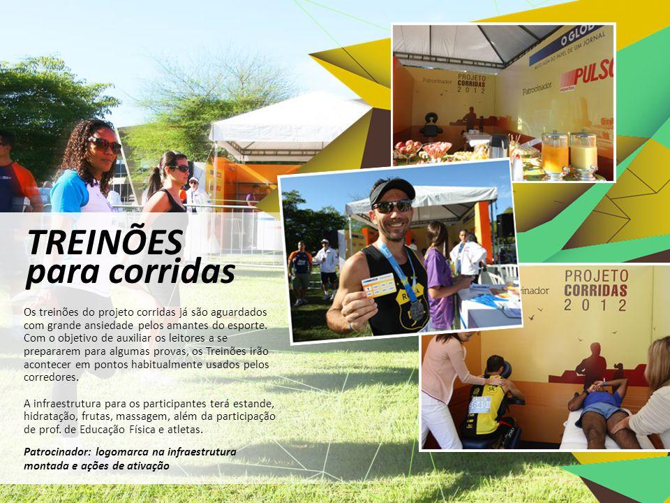 A divulgação, no Globo e no site do jornal, será um estímulo à inscrição dos participantes.