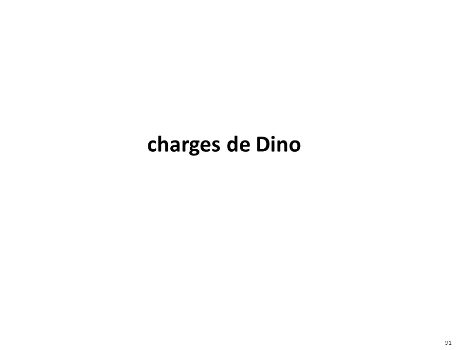 charges de Dino 91
