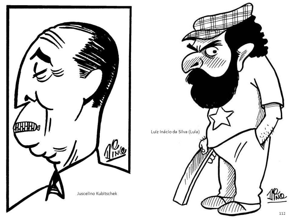 Resultado de imagem para juscelino caricatura