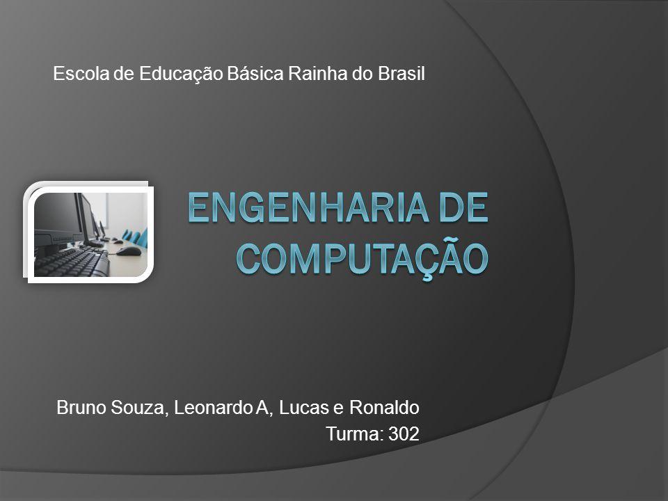 Bruno Souza, Leonardo A, Lucas e Ronaldo Turma: 302 Escola de Educação Básica Rainha do Brasil