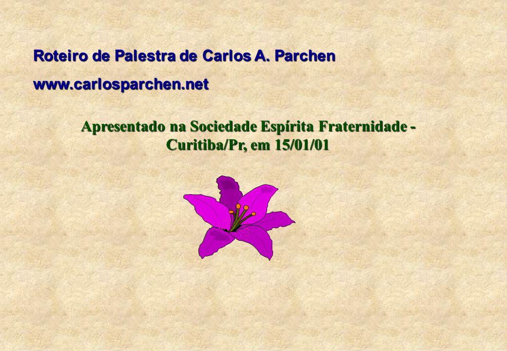 Roteiro de Palestra de Carlos A.