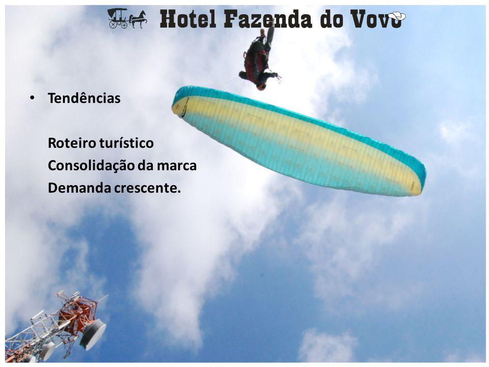 • Conclusão O Hotel Fazenda do Vovô possui como pontos positivos para o seu funcionamento: localização, infra-estrutura, vias de acesso...