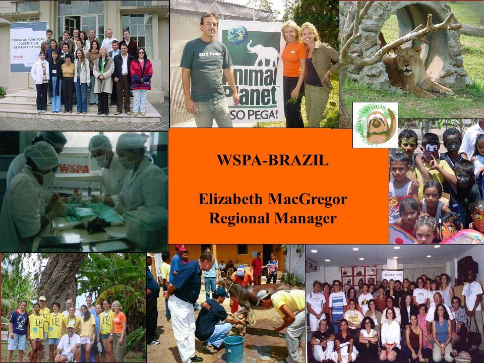 Bem-Estar Animal WSPA-BRAZIL Elizabeth MacGregor Regional Manager
