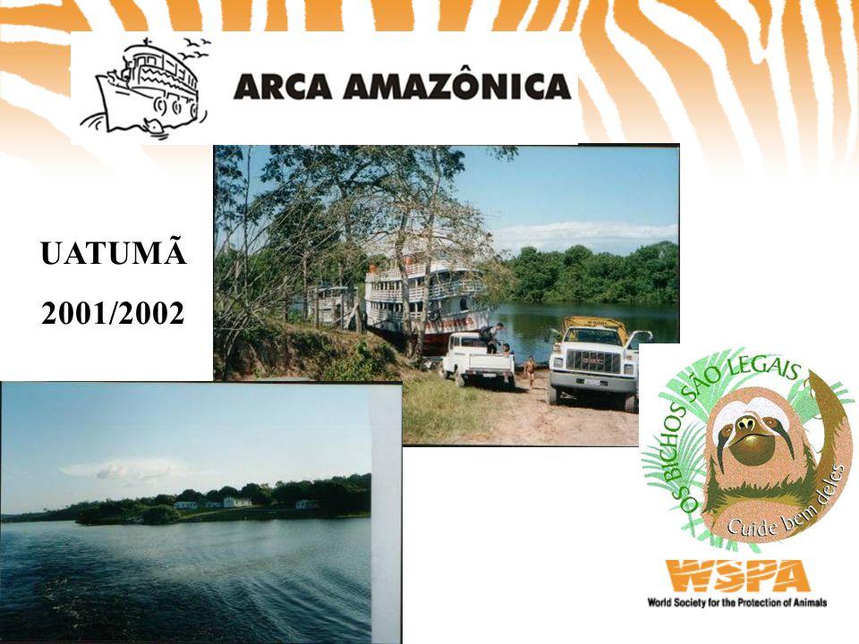 ARCA AMAZÔNICA UATUMÃ 2001/2002