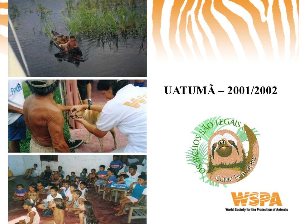 UATUMÃ – 2001/2002
