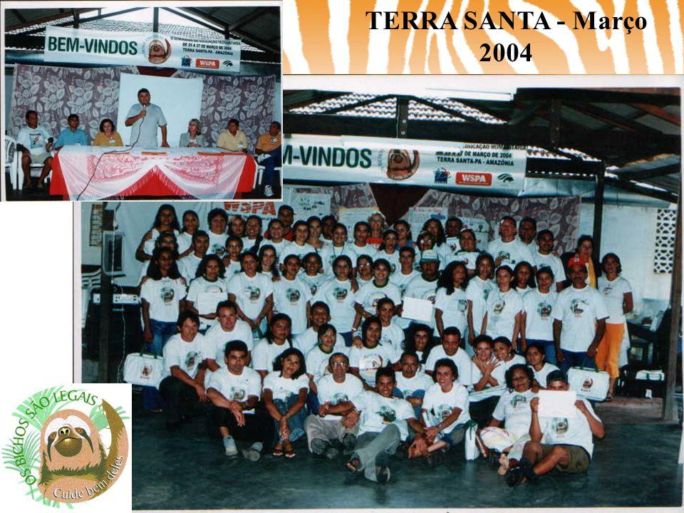 TERRA SANTA - Março 2004