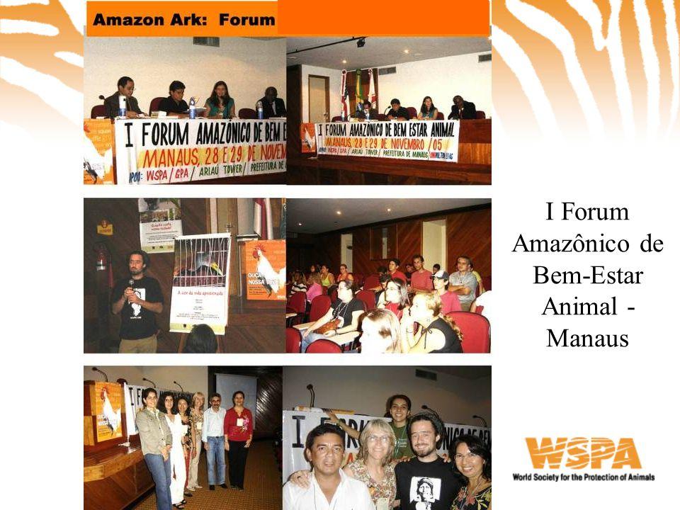 I Forum Amazônico de Bem-Estar Animal - Manaus