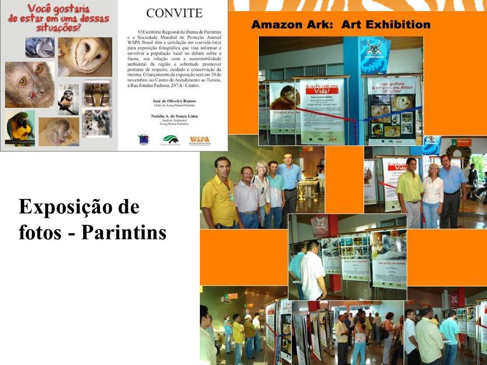 Exposição de fotos - Parintins CD