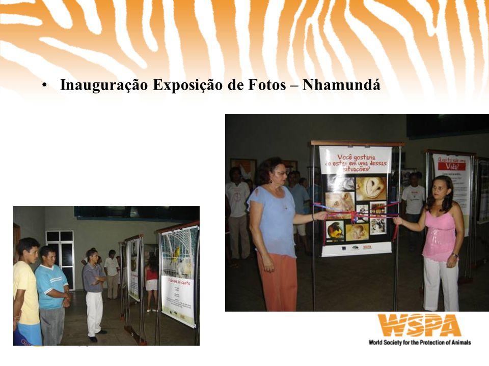 •Inauguração Exposição de Fotos – Nhamundá