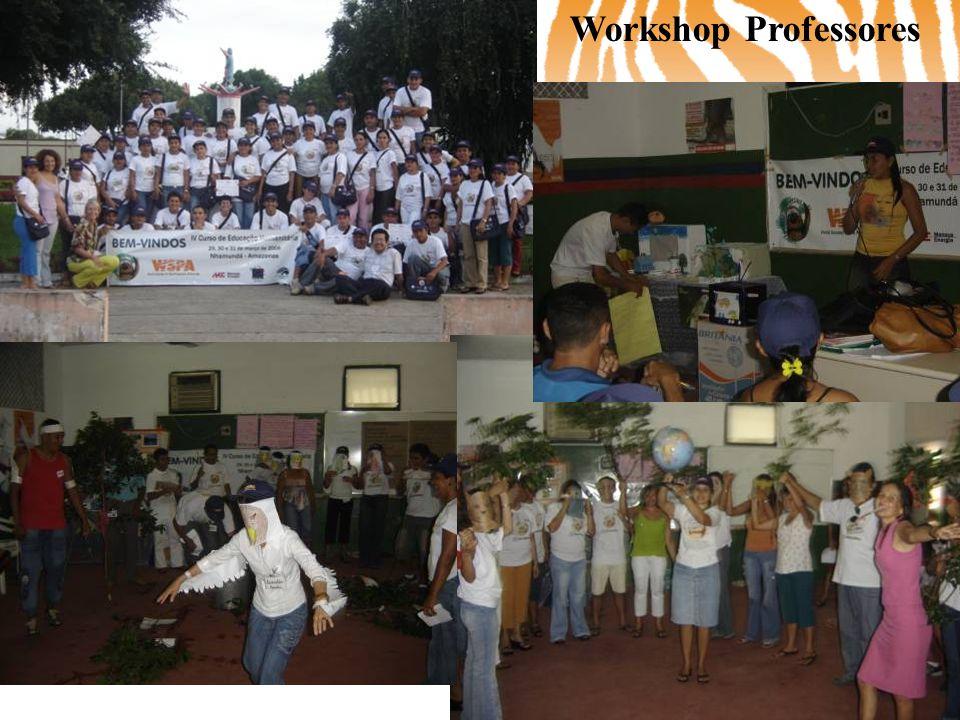 Curso de Educação Humanitária para Professores – março – Nhamundá Workshop Professores