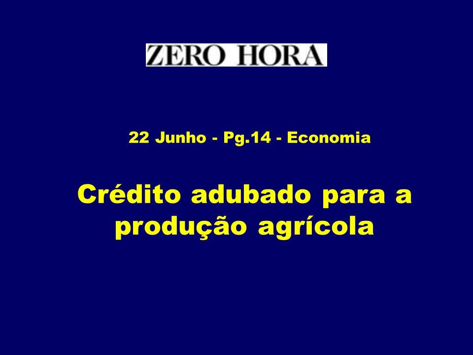 16 de Junho - Pg.10 – Economia BB amplia crédito p/micro e pequenas empresas em R$ 11,6 bilhões