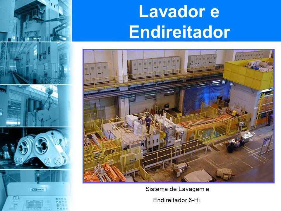 Sistema de Desbobinador e Estação de Preparação da Chapa. Desbobinador e Estação de Corte