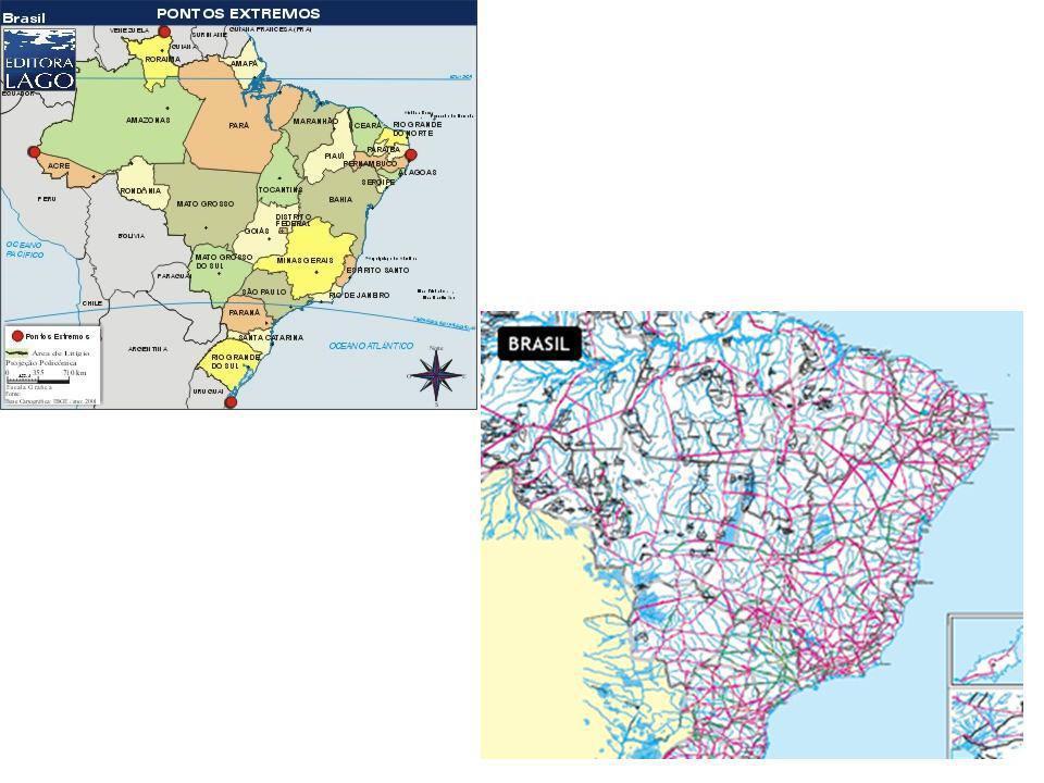 → Complexos Regionais •Regionalização baseada em critérios socioeconômicos, como IDH, produção industrial e agrícola, urbanização, etc.