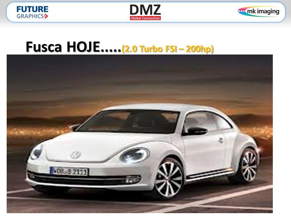 Fusca HOJE..... (2.0 Turbo FSI – 200hp)