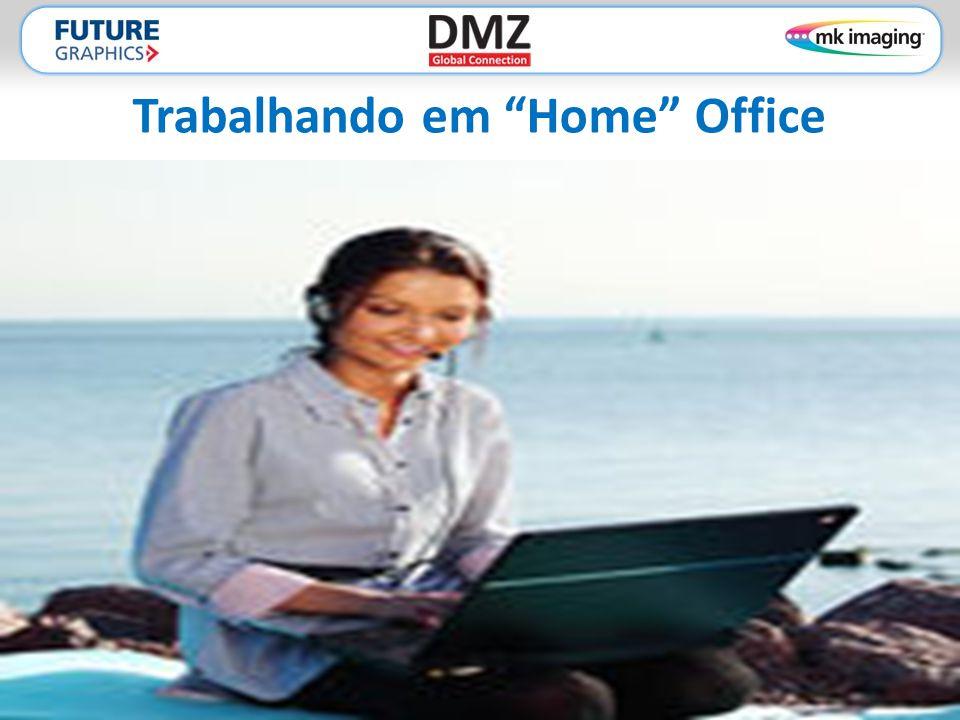Trabalhando em Home Office