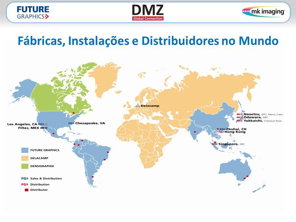 Utilizadas por Alguns dos Maiores Recicladores do Mundo Presente em mais de 50 países. Marcas MKI