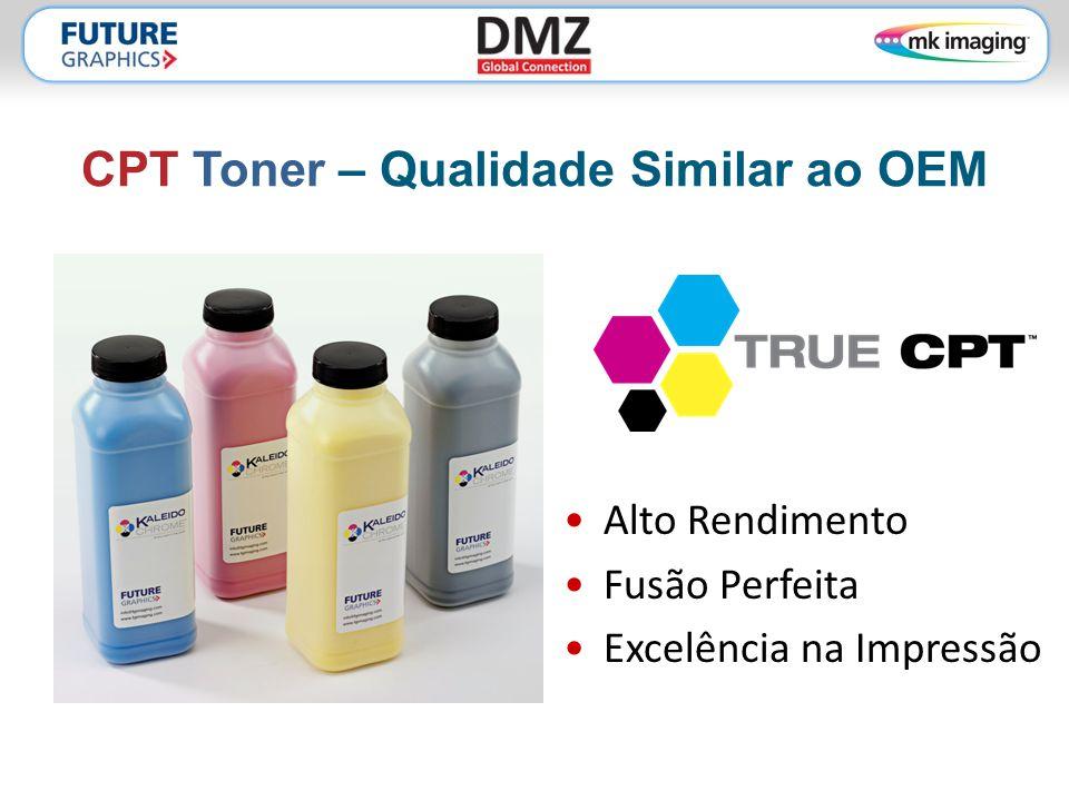 CPT Toner – Qualidade Similar ao OEM •Alto Rendimento •Fusão Perfeita •Excelência na Impressão