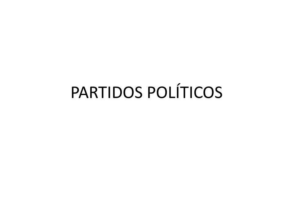 PARTIDO POLÍTICO Pessoa jurídica de direito privado sem finalidade lucrativa (art.