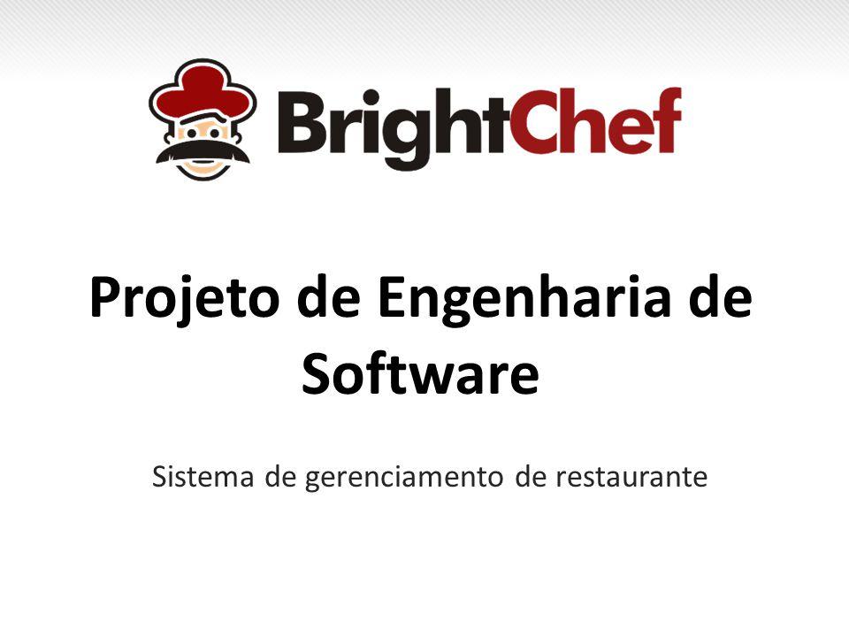 Projeto de Engenharia de Software Sistema de gerenciamento de restaurante