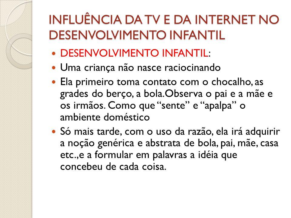 INFLUENCIA DA TV E DA INTERNET NO DESENVOLVIMENTO INFANTIL  11 – Torne-se um alfabetizado em MIDIA.