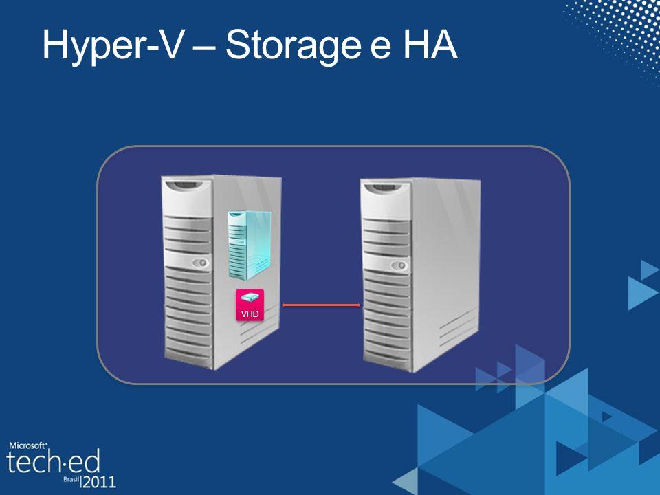 VHD Hyper-V – Storage e HA