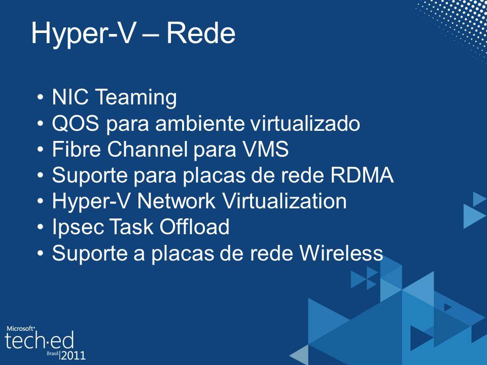 Hyper-V – Rede