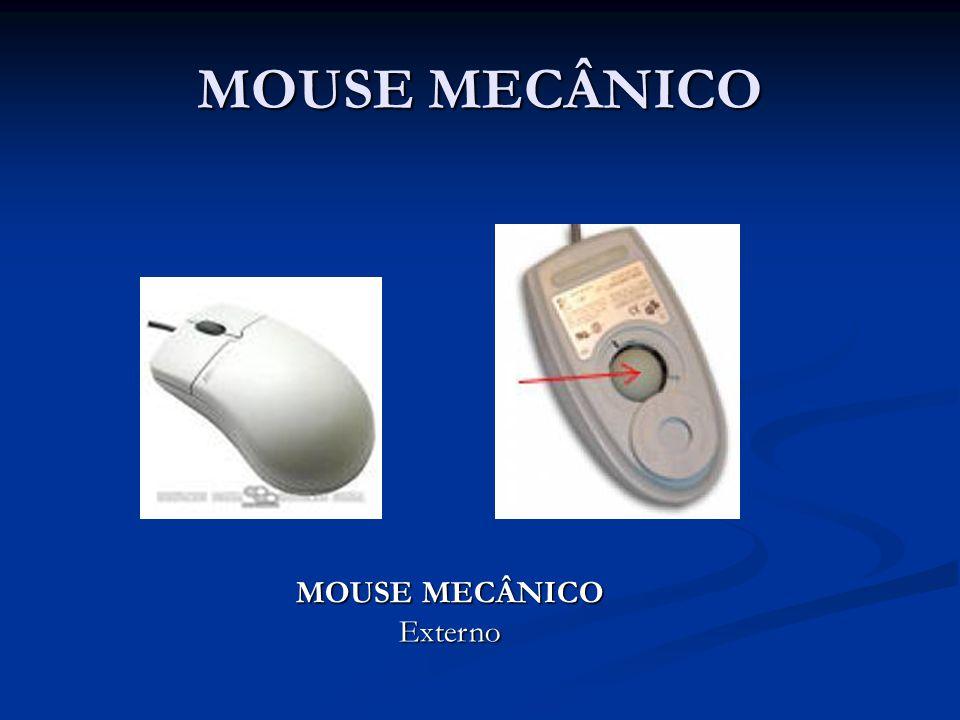 FUNCIONAMENTO Superfície hipotética de um mouse LASER ou LED O mouse LASER e o mouse LED possuem o mesmo sistema de funcionamento A área contornada em PRETO mostra a superfície inicialmente observada pelo sensor do mouse.
