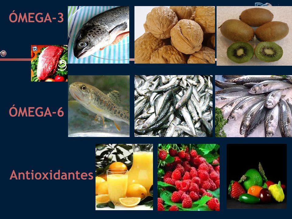 ÓMEGA-3 ÓMEGA-6 Antioxidantes