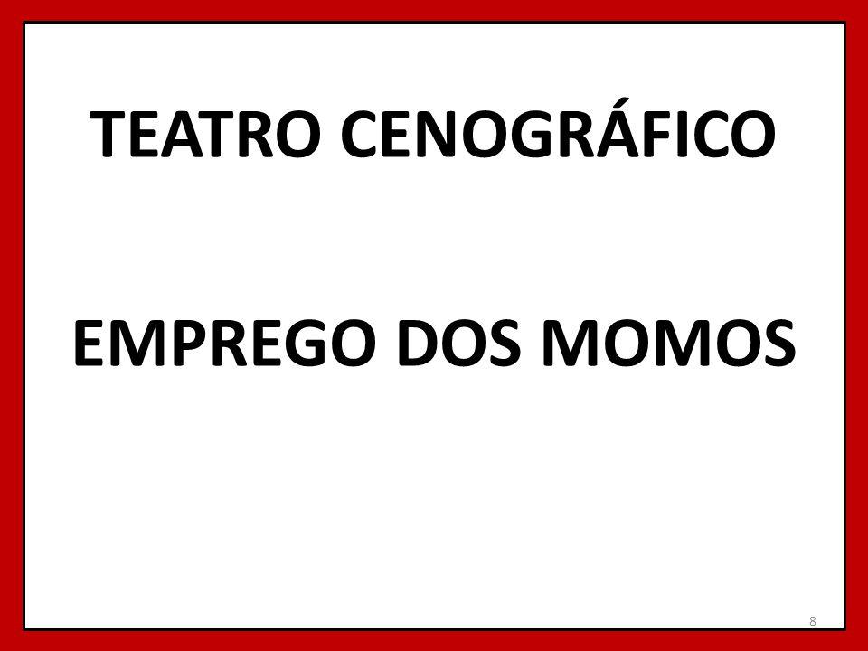 TEATRO CENOGRÁFICO EMPREGO DOS MOMOS 8