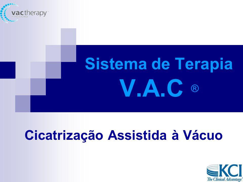Sistema de Terapia V.A.C ® Cicatrização Assistida à Vácuo