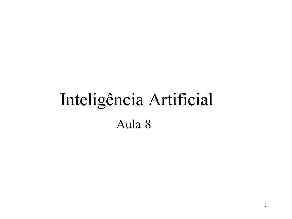 1 Inteligência Artificial Aula 8