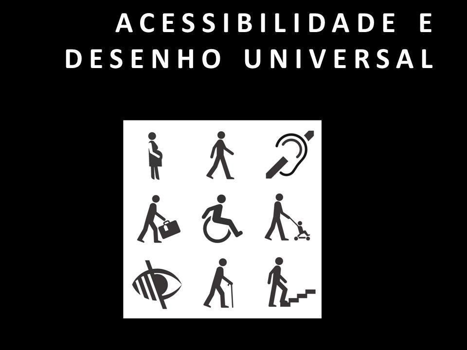 Classificação baseada nas diretrizes gerais da ADA - American with Disabilities Act, que regula os direitos dos cidadãos com deficiência nos EUA.