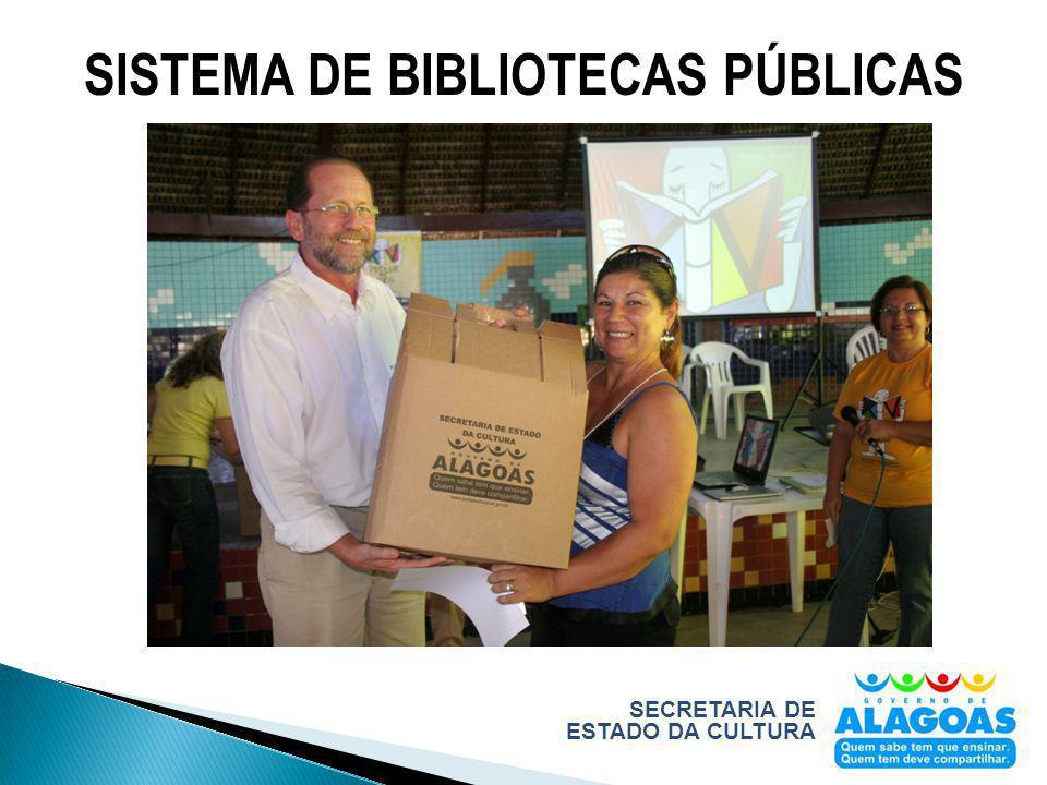 SECRETARIA DE ESTADO DA CULTURA SISTEMA DE BIBLIOTECAS PÚBLICAS