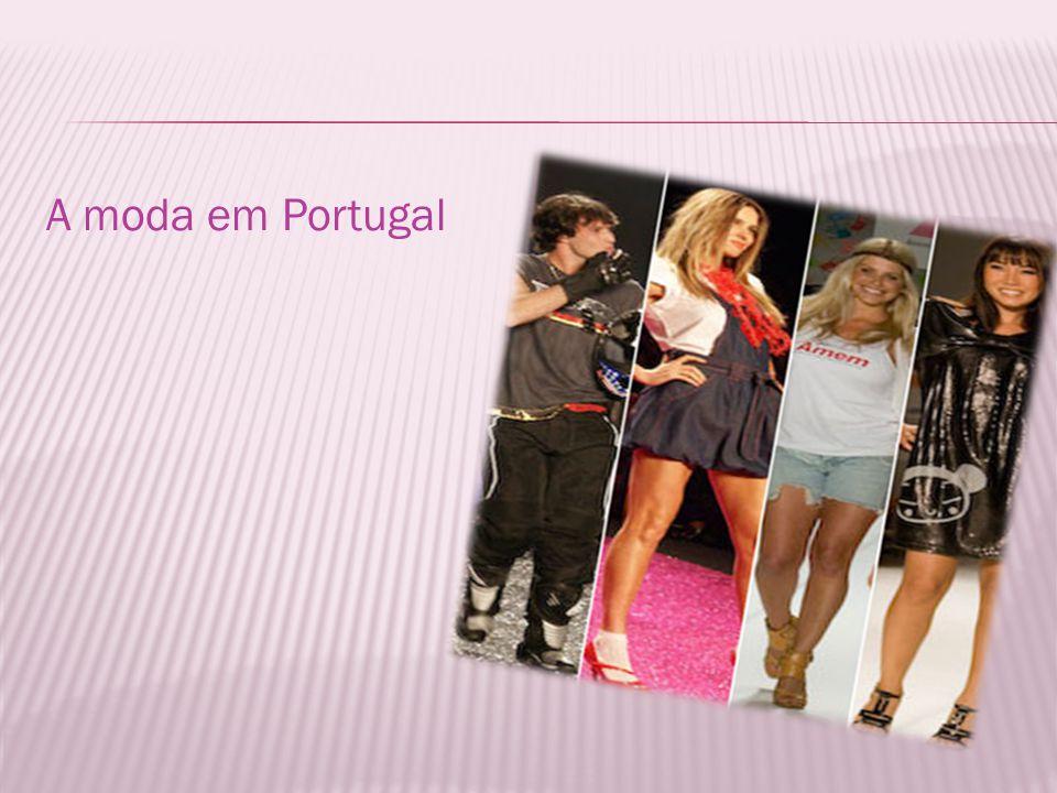 A moda em Portugal