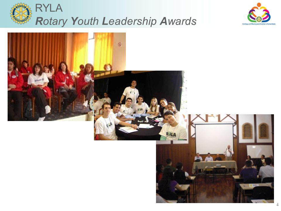 4 RYLA Rotary Youth Leadership Awards