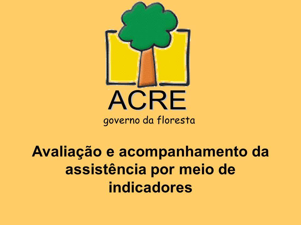 Avaliação e acompanhamento da assistência por meio de indicadores governo da floresta