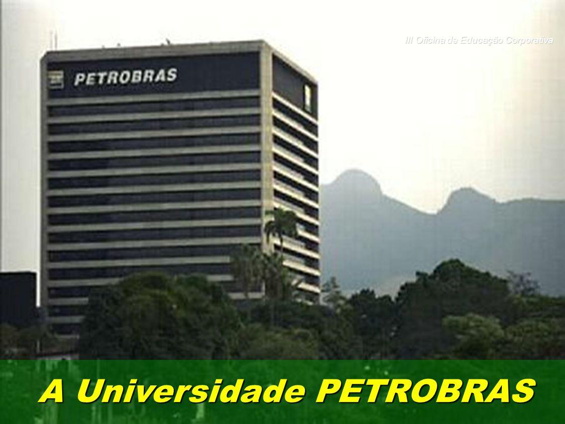 A Universidade PETROBRAS III Oficina de Educação Corporativa