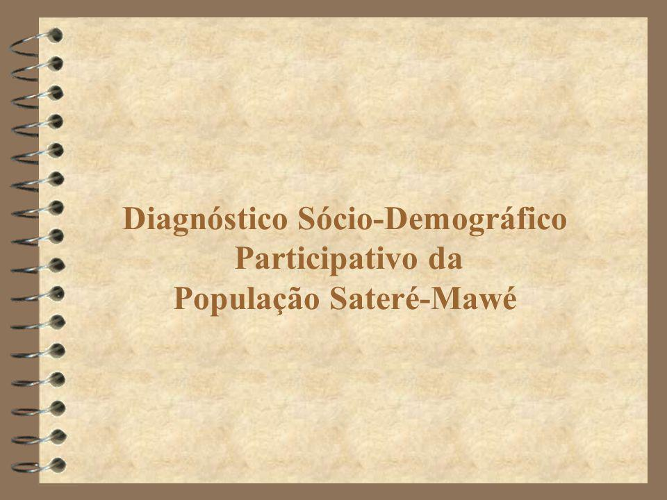 Diagnóstico Sócio-Demográfico Participativo da População Sateré-Mawé
