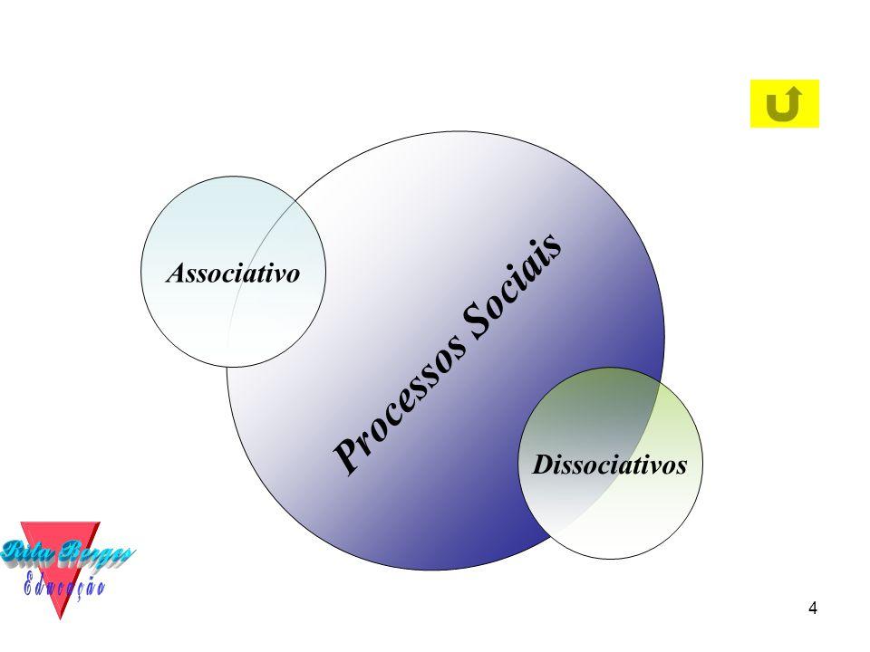4 Processos Sociais Associativo Dissociativos