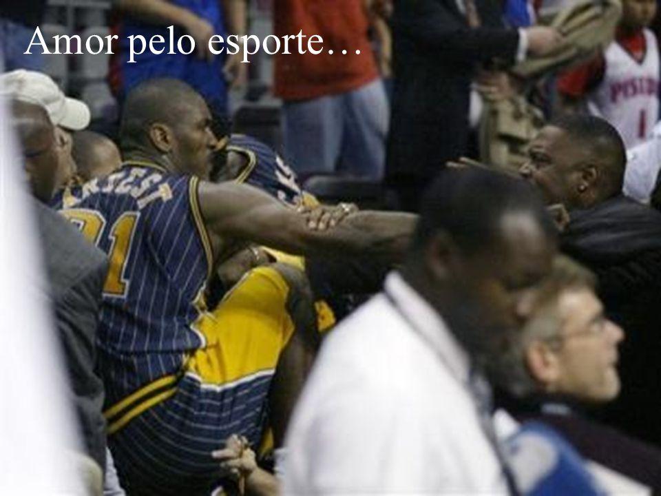 Amor pelo esporte…