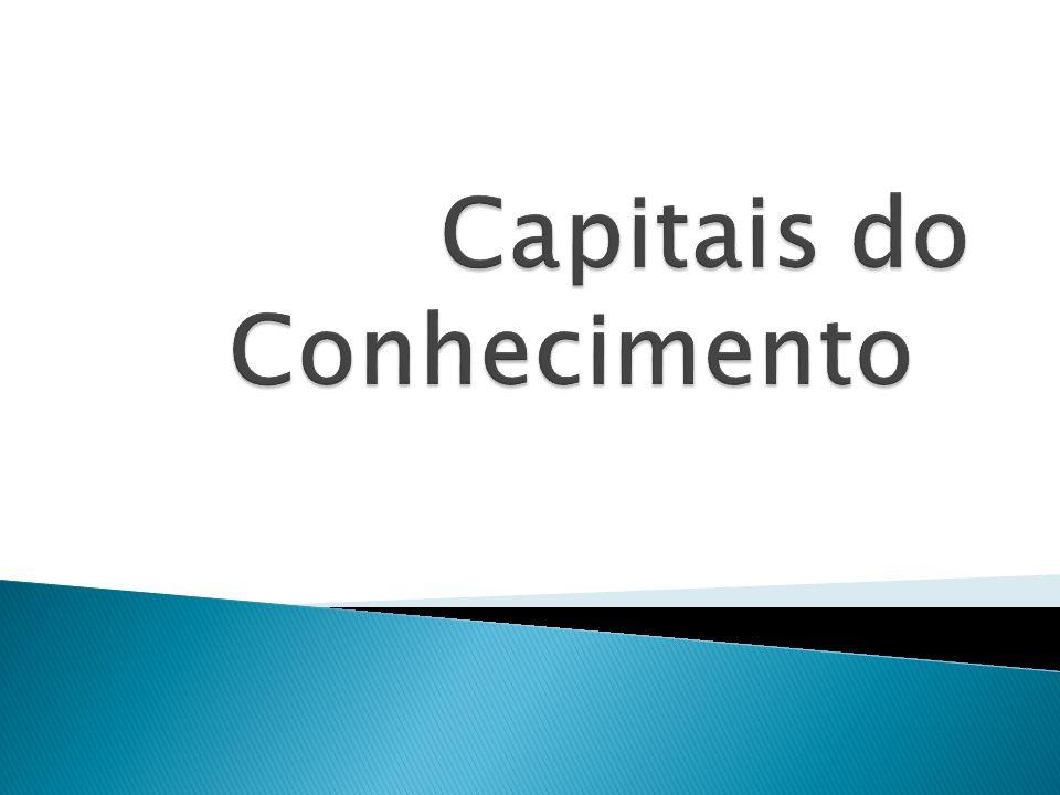O Capital Intelectual pode ser dividido em 4 categorias:  Ativos de mercado: potencial que a empresa possui em decorrência dos intangíveis que estão relacionados ao mercado  Ativos Humanos: Compreende os benefícios que o indivíduo pode proporcionar para as organizações.