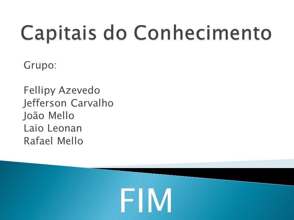 Grupo: Fellipy Azevedo Jefferson Carvalho João Mello Laio Leonan Rafael Mello FIM
