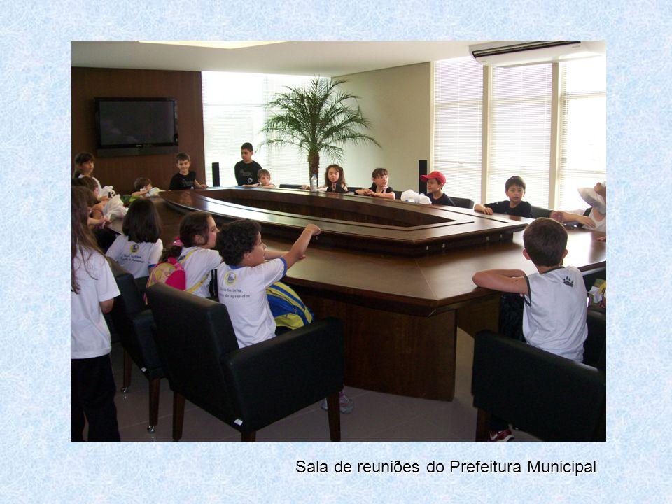 Sala de reuniões do Prefeitura Municipal