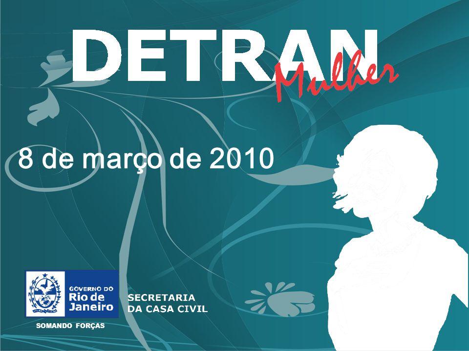 SOMANDO FORÇAS 8 de março de 2010