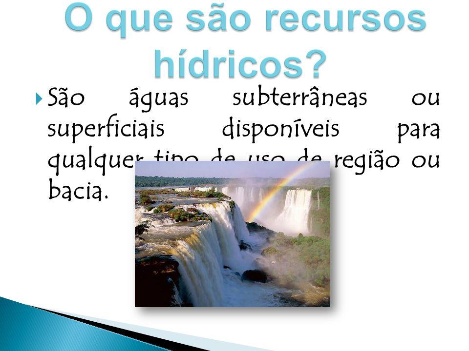  É uma distribuição desigual e depende das condições climáticas e das características geológicas.