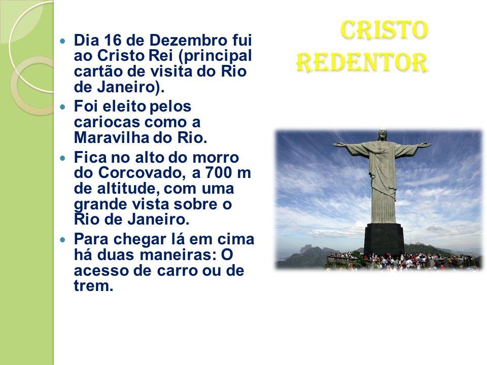 Calçadão do Rio de Janeiro  O calçadão fica à beira mar e é muito bom para fazer caminhadas…E começar um dia à beira mar.